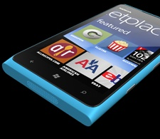 Nokia Lumia 900.  Beautiful phone.  I really like the colors that Nokia offers.  White will be coming soon, and rumors that that red will be coming around Mother's day.