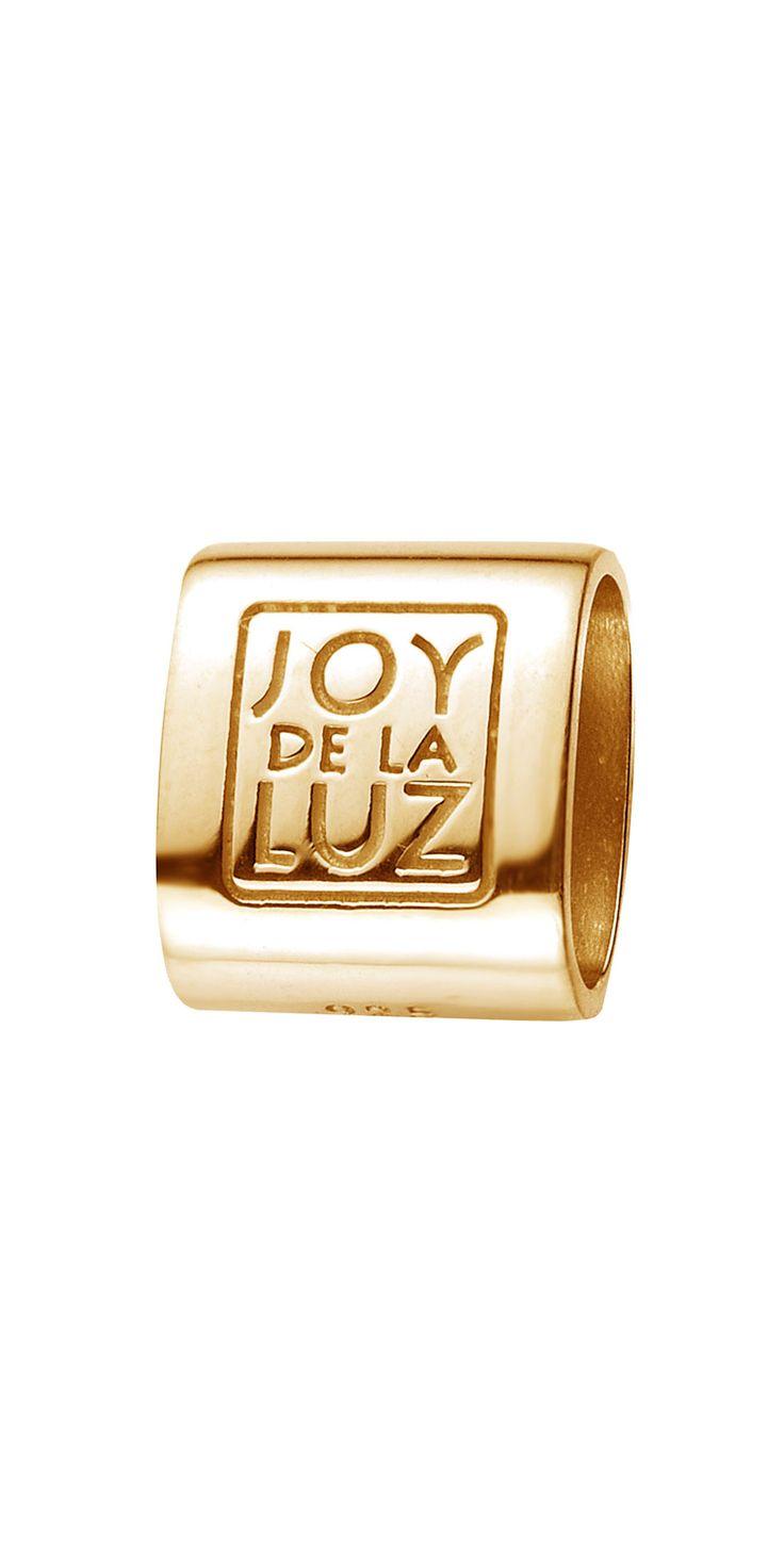 Joy de la Luz | Bracelet tube goldplated