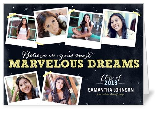 Marvelous Dreams Graduation Card