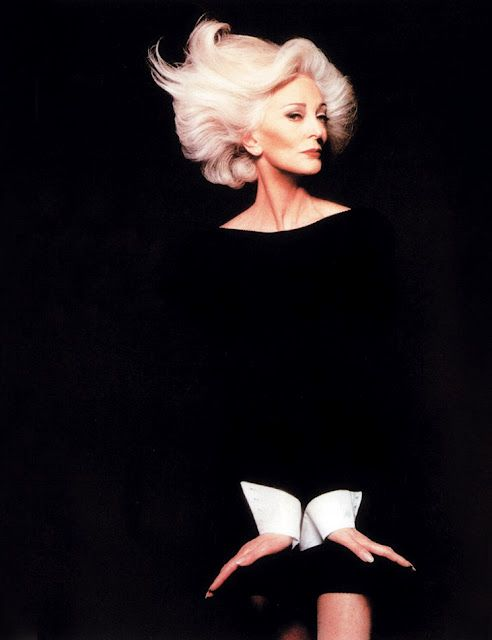 Carmen dell'Orefice #fashion #photography