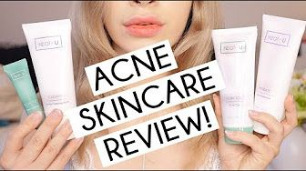 ACNE TREATMENT SKINCARE REAL U REVIEW - YouTube