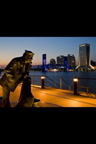 Down town Jacksonville , Fl