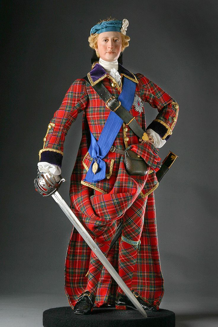 George Stuart (1929-) - Prince Charles Edward Stuart (1720-1788). Mixed Media Sculpture. Circa Late 20th to Early 21st Centuries.