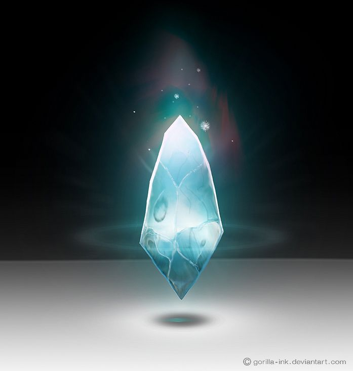 Magical Crystal by goRillA-iNK.deviantart.com on @deviantART