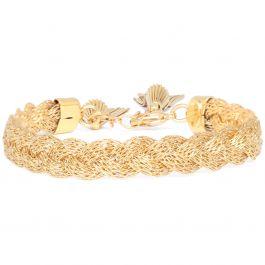 Bracelet Tresse doré (Gas bijoux)