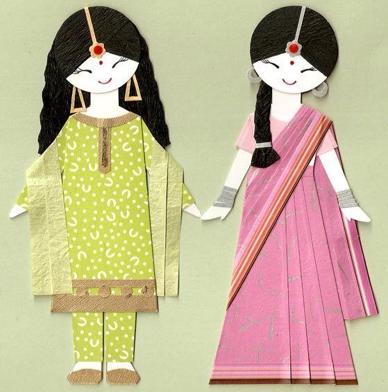 Индийские девушки