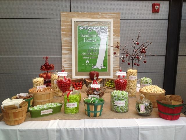 The Giving Tree Party Table #givingtree #party