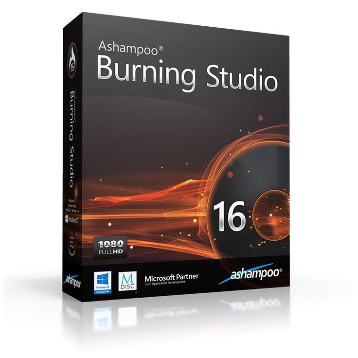 Ashampoo Burning Studio 16 burns data, movies or music to any CD, DVD or Blu-ray disc.