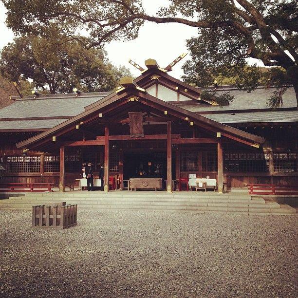猿田彦神社 場所: 伊勢市, 三重県