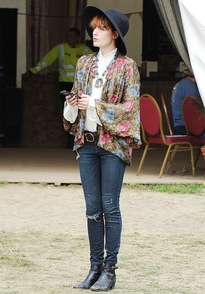 The 28 Best Looks From Glastonbury Festivals Past via @WhoWhatWear