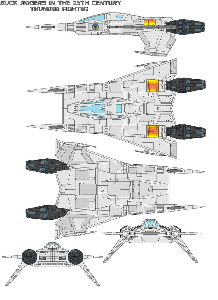 152 best cg blueprint ref images on pinterest cottage floor buck rogers in the century thunder fighter description this fighter is a medium starfighter used by the earth defense directorate to protect the earth and malvernweather Choice Image