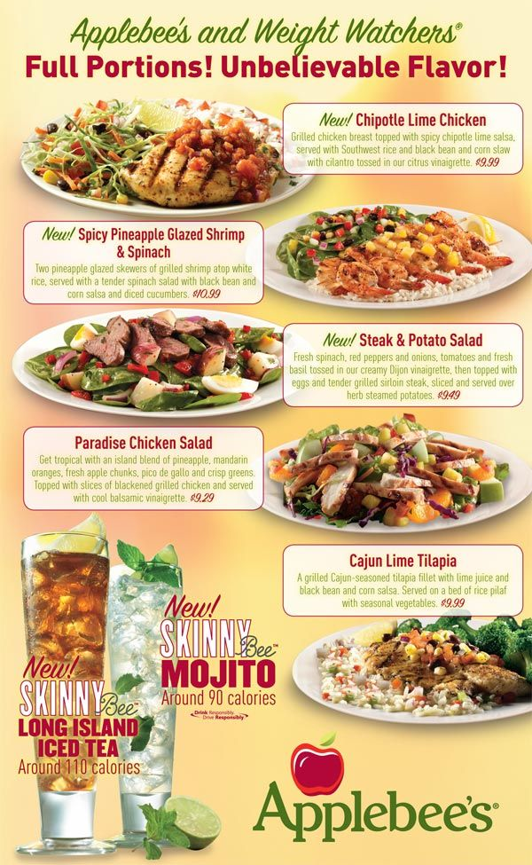 It's just a graphic of Dynamic Applebee's Printable Menu Pdf