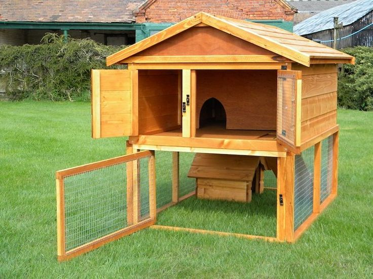 Make your own rabbit hutch woodworking projects plans for Wood hutch plans