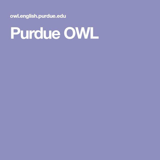 Best 25+ Online writing lab ideas on Pinterest Writing lab - purdue owl resume