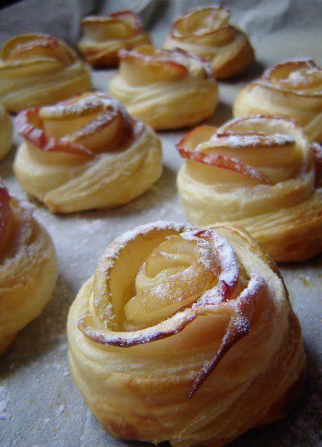 Fahéjas-almás rózsák | Praktikák sok gyerekhez
