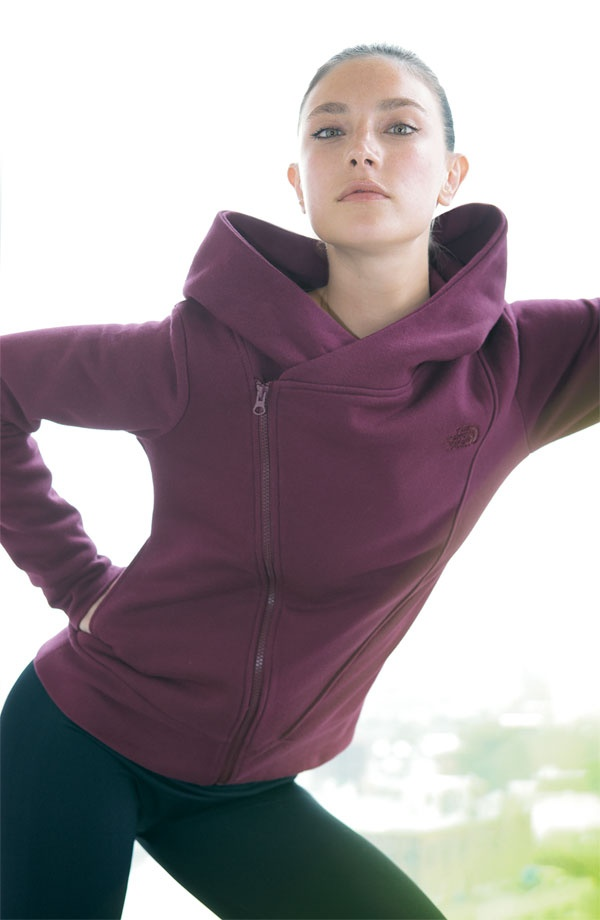 cowl/hoodie combo from North Face. I need this