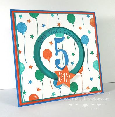 We recently celebrated a very special birthday in our family. My gorgeous nephew Leo turned 5 (I know, can you believe it - he starts school next year!) So of course I had to make a very special card