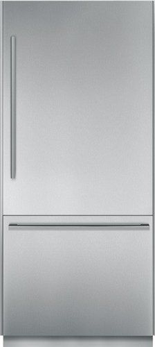 """#refrigerators #Thermador T36BB810SS 36"""" Built-in Fully Flush Bottom Freezer Refrigerator with 19.7 cu. ft. Capacity, Full Extension Drawers, Cantilever Racks, I..."""