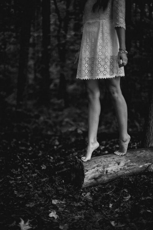 I'll wander barefoot- because I want to be exposed, to every texture, every temperature, every feeling. I want to be connected to nature- & that will connect me to my soul. ~N.D