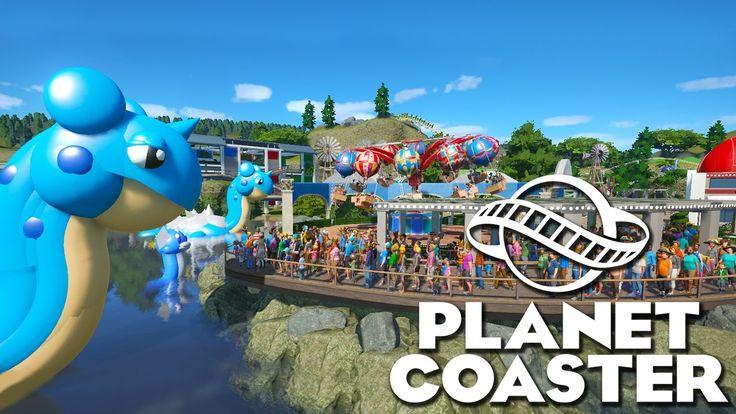 Pokemon Themed Planet Coaster Park