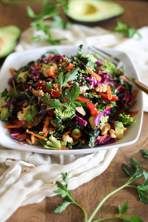 The Ultimate Detox Salad | Full of vitamins and antioxidants