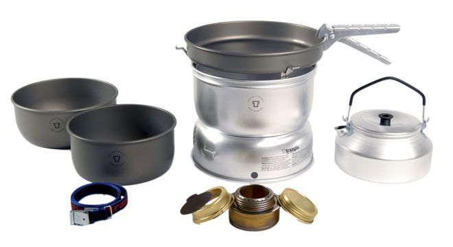 Trangia 25-8 UL/HA Cookset  - Canadian Outdoor Equipment Co.167$cdn free shipping with alcohol burner