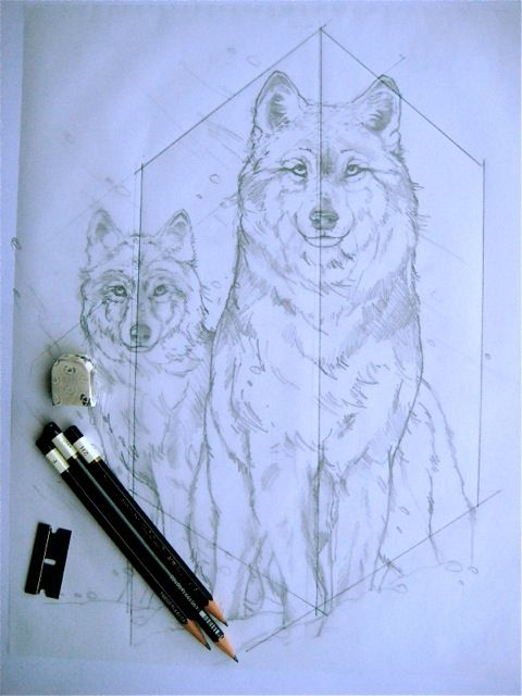 Fantasy artist jody bergsma say i use geometry to create balanced drawings
