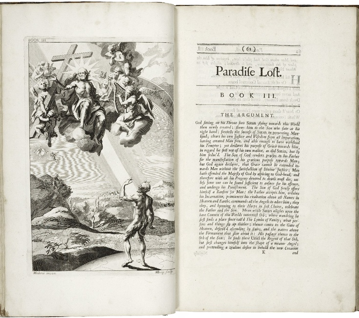 12 pics from the first illustrated verison of Paradise Lost, 1688