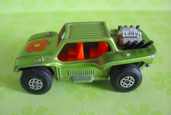 Vintage 1971 LESNEY Matchbox Series BAJA BUGGY Toy by MADsLucky13, $13.00
