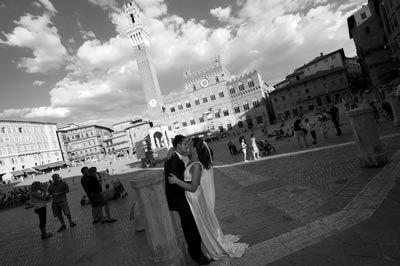 Destination wedding venues: Siena Italy