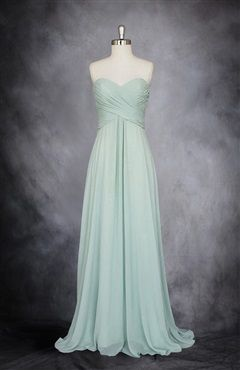 Der Stil gefällt mir für Brautjungfernkleider aber ich finde lila/flieder besser als Farbe glaube ich