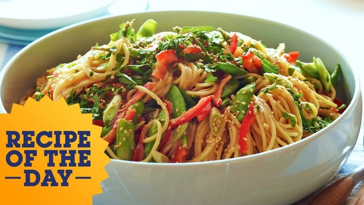 Recipe of the Day: Ina's Crunchy Noodle Salad   Food Network l #foodnetwork