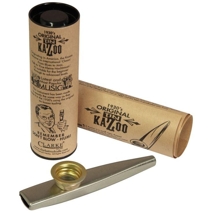 Kazoo strumento Original Tin Kazoo strumento Made in England. Un classico, utilizzato nel blues come nel jazz. Adatto sia a principianti che non. Strumento musicale davvero particolare e divertente, di origine africana, e dal prezzo davvero contenuto. Ottima idea-regalo, il Kazoo è uno strumento facile da suonare ed alla portata di tutti, ma attenzione: non […]
