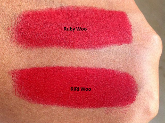 MAC RiRi Woo Retro Matte Lipstick - Review, Swatches