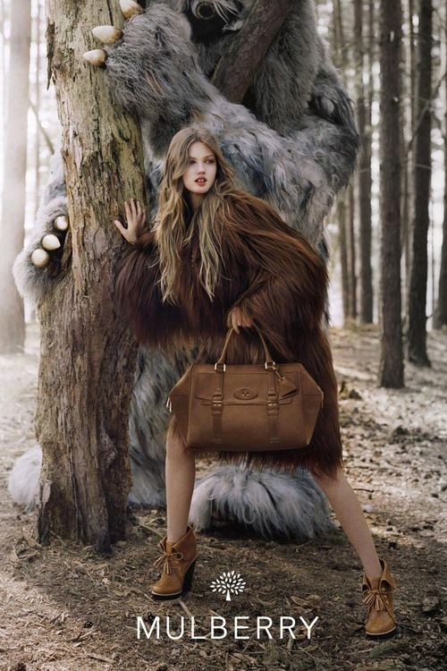 Weird, but I love the bag: Lindsey Wixson, Fashion, Advertis Campaigns, Wild Things, Ads Campaigns, Tim Walker, Mulberry Fall, Ad Campaigns, Fairies Tales