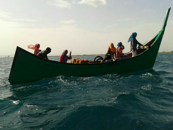 Me and friends. Crossing The Andaman Sea from Weh Island to Banda Aceh.   Soooo fun but Definately not doing it anymore!!!