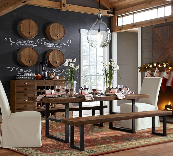 Channing Persian Style Rug Pottery Barn Pinterest