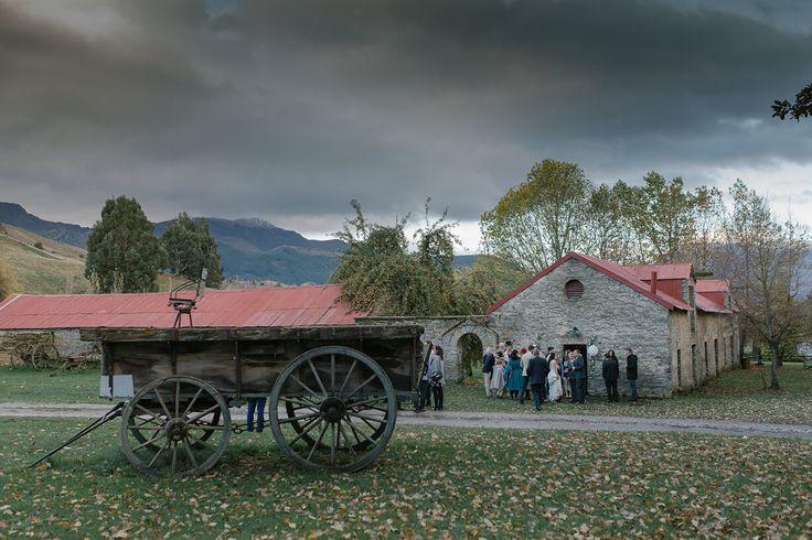 Thulby Domain Queenstown New Zealand. Wedding destination.