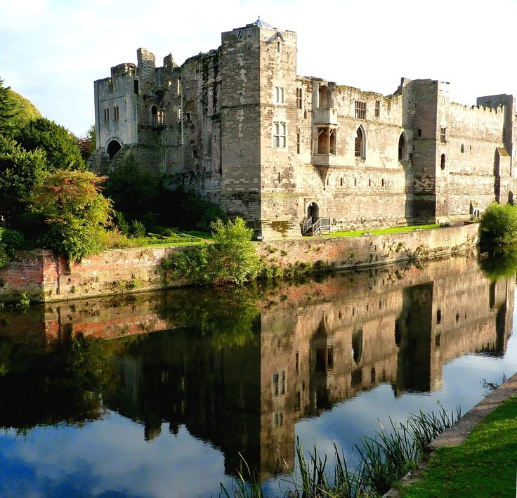 The Norman Newark on Trent  Castle, Nottinghamshire, England