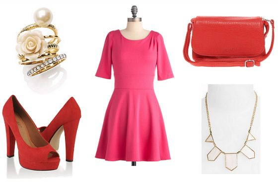 59 best color combinations for clothes images on pinterest Red and pink colour combination