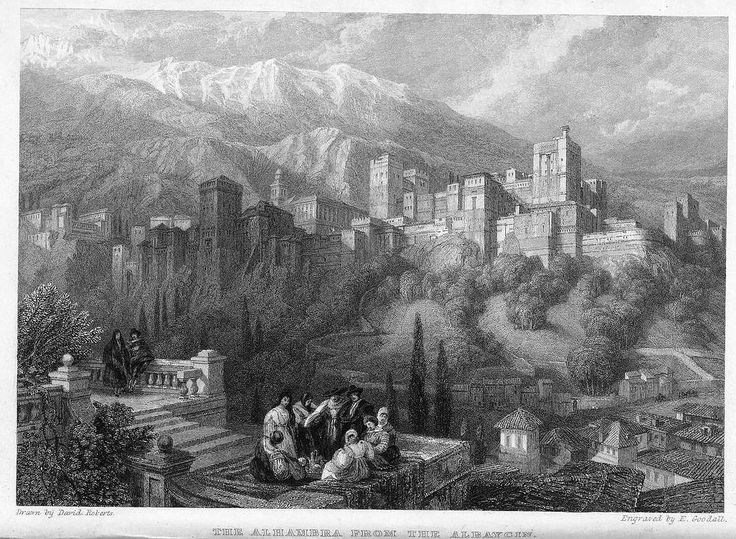 https://flic.kr/p/cAjjEJ | Granada: vista de la Alhambra desde el Albaicín