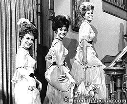 Petticoat Junction Girls Linda Henning, Lori Saunders and Meredith Mac Rae