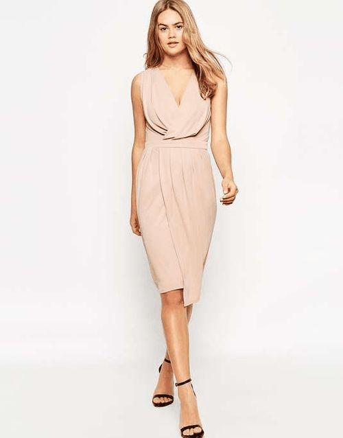 ASOS   Blouson Wrap Jersey Dress #Asos #dress