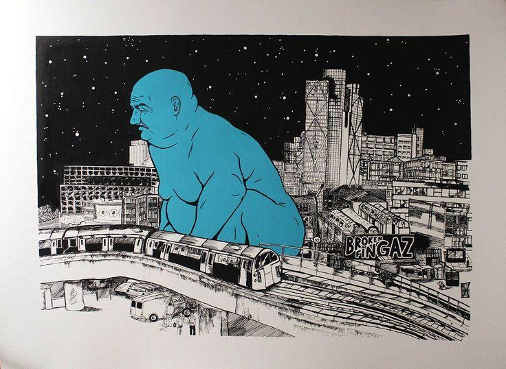 UK Artist John Dolan Sought Freedom, And Found It In Street Art