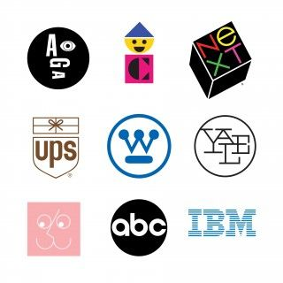 well known logos of Paul Rands