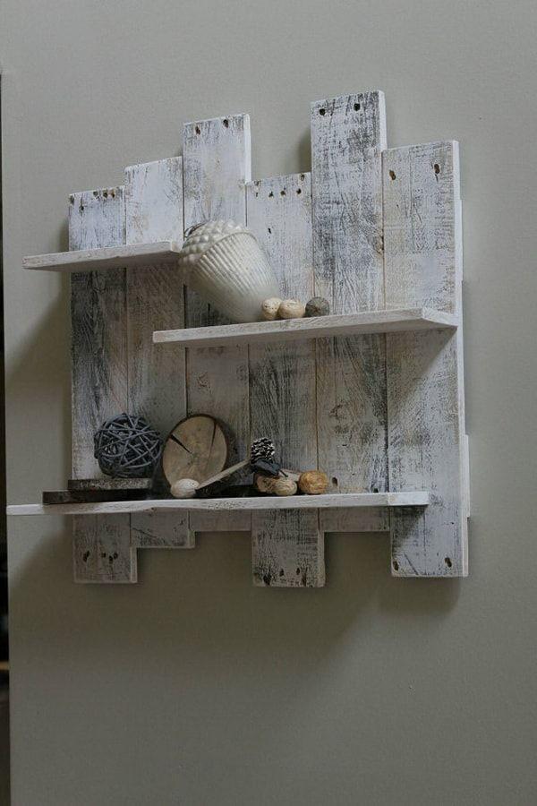 Mueble hecho con maderas de palets