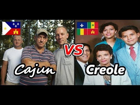 Louisiana Creole and Cajuns: What's the Difference? Race, Ethnicity, History and Genetics - YouTube
