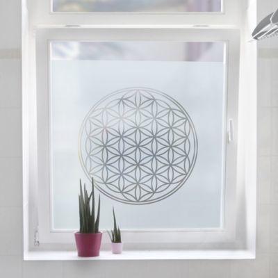 Superb Fensterfolie Sichtschutzfolie Blume des Lebens Milchglasfolie Frosted x Jetzt bestellen unter