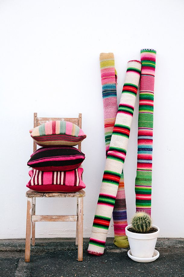 TEXTILE | PAMPA 2015 Collection // Australian based, handwoven in Argentina // Available online and from stockists