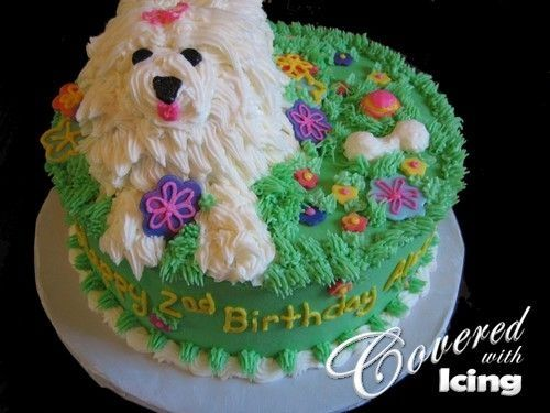 cute little girl birthday cakes | puppy dog cake for little girl this was inspired by so many cakes here ...